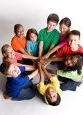 Enfants multiraciaux comp