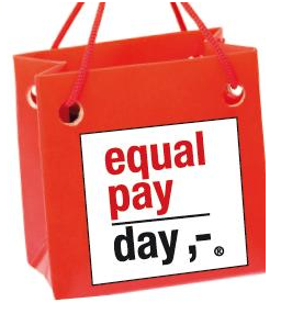 Equal pay day sac rouge